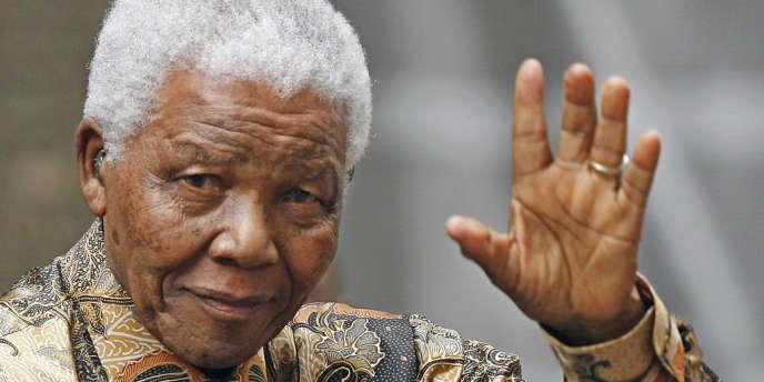 Nelson Mandela, en 2007.