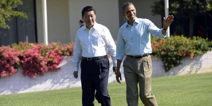 Barack Obama et Xi Jinping, le 8 juin.