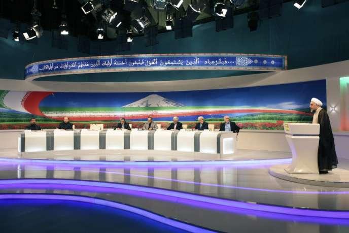Débat entre les candidats à l'élection présidentielle iranienne.