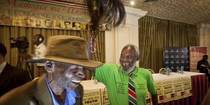 Muthengi Iregi a été torturé il y a plus de soixante ans par les autorités coloniales britanniques.