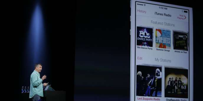 Apple annonce iOS 7 et son service de streaming musical, iTunes Radio
