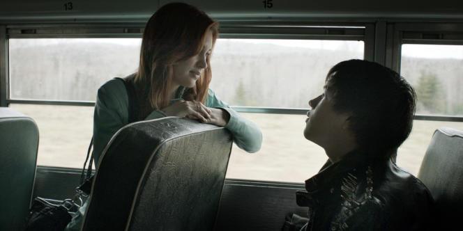 Alexia Fast et Connor Jessup dans le film canadien de Jason Buxton,