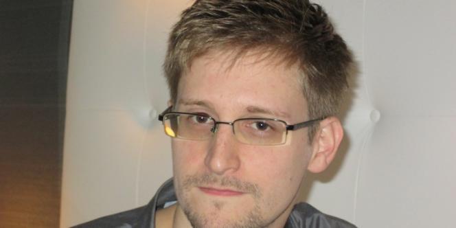Une photo d'Edward Snowden publiée par le
