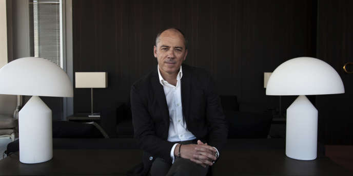 Stéphane Richard, PDG d'Orange. Paris, le 7 juin 2013.