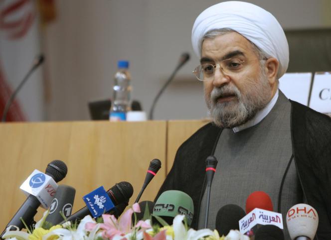 Hassan Rohani, en avril 2006 à Téhéran.