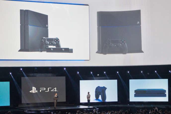 Sony présentait sa nouvelle console PS4 lundi 10 juin à Los Angeles.