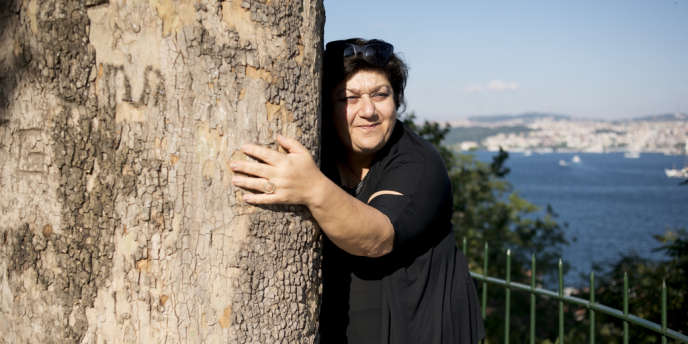 L'actrice Serra Yilmaz à Istanbul.