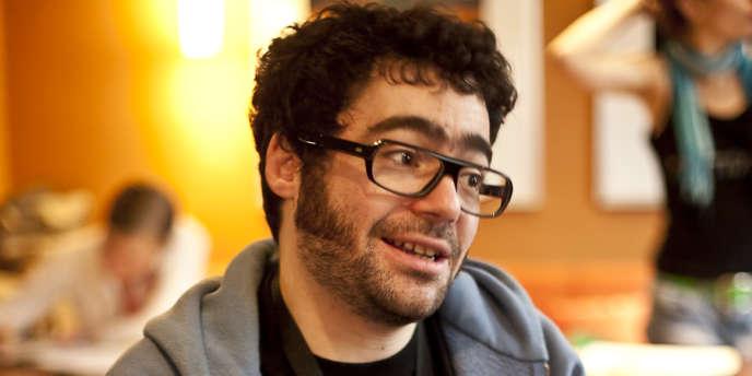 Le porte-parole de la Quadrature du Net, Jérémie Zimmermann.