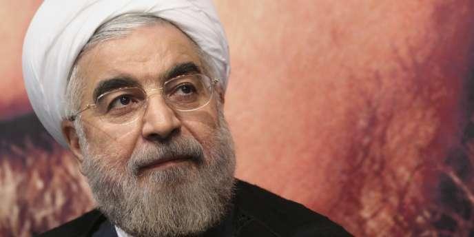 Hassan Rohani, le président iranien, le 1er juin.