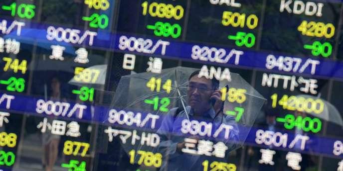 Sur la semaine du 24 au 28 juin, l'indice japonais, le Nikkei a rebondi de 3,38 %.