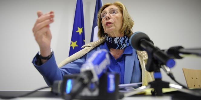 La ministre du commerce française, Nicole Bricq, le 14 juin à Luxembourg.