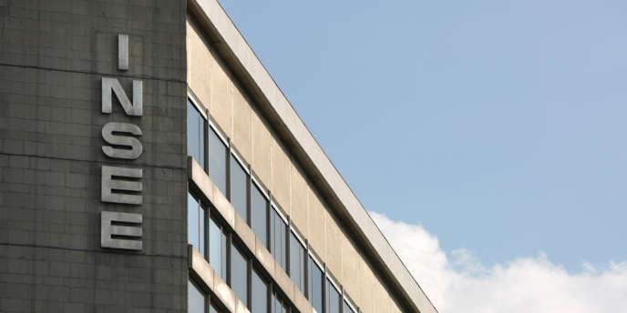 Le siège de l'Insee, à Paris.