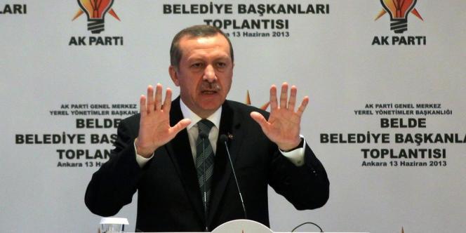 Le premier ministre, Recep Tayyip Erdogan, le 13 juin à Ankara.