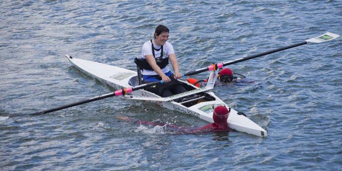 L'athlète handicapée Nathalie Benoit.