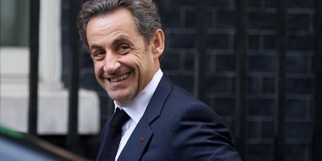Nicolas Sarkozy, le 3 juin à Londres.