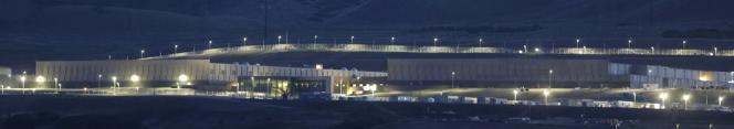 Vue d'un centre de traitement de données de la NSA à Bluffdale, dans l'Utah.