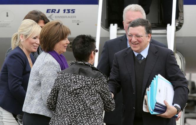 Jose Manuel Barroso, le 17 juin à Belfast.