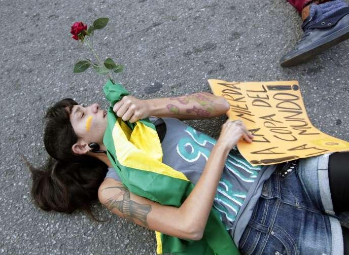 A Rio de Janeiro, le 16 juin.