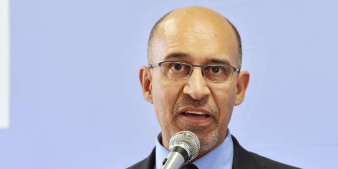 Le premier secrétaire du PS, Harlem Désir, en avril 2013.