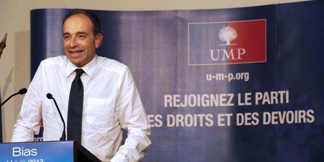 Jean-François Copé, le 14 juin 2013.