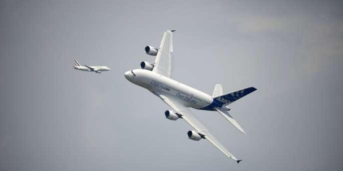 La flotte de Singapore Airlines comprend dix-neuf A380, plus cinq en commande.