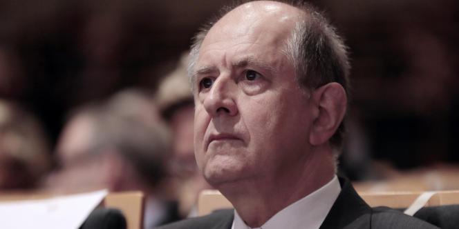Jean-Marc Sauvé, le 5 octobre 2012, au Palais Brongniart à Paris.