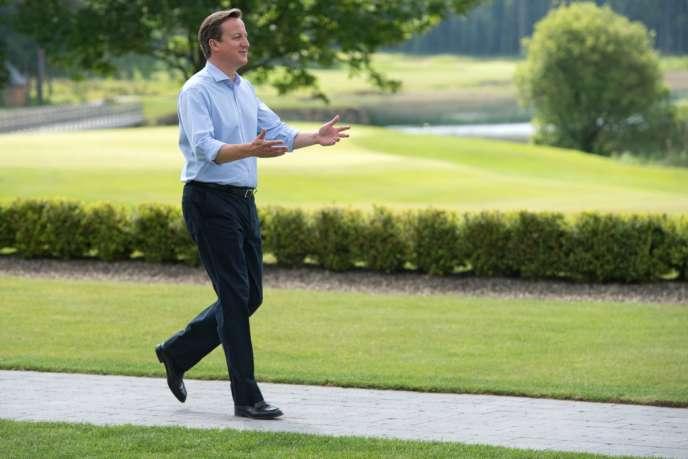 Le premier ministre britannique David Cameron en juin 2013.