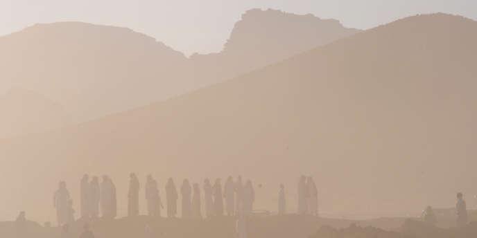 Le désert d'Aleghan en Arabie saoudite.