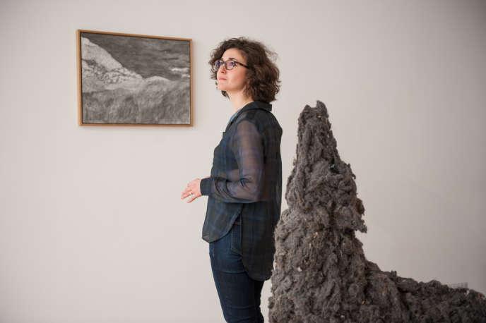Léa Bismuth, curatrice de l'exposition