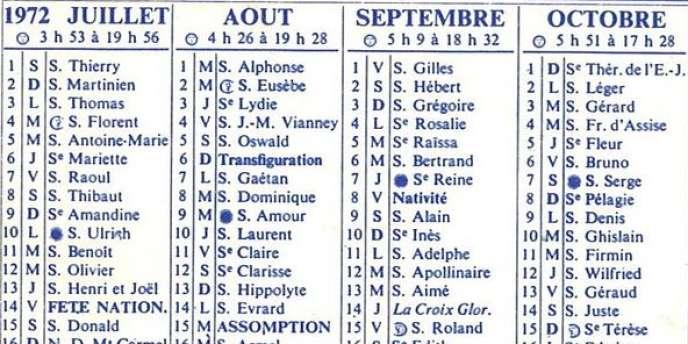 Calendrier Des Saints Et Des Prenoms.Prenom De Choix