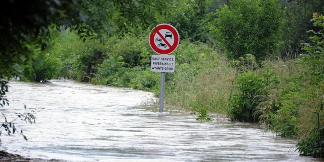 Lourdes était inondée le 18 juin.