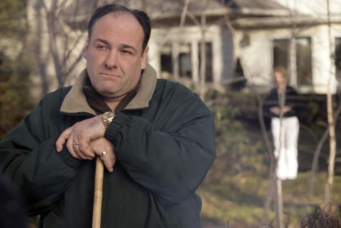 James Gandolfini alias Tony Soprano dans l'un des derniers épisodes de la série