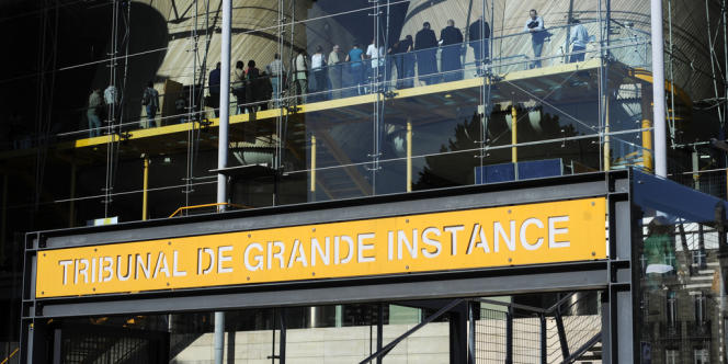 Le TGI de Bordeaux, le 14 juin 2012.