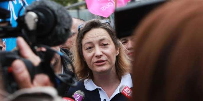 La présidente de La Manif pour tous, Ludovine de la Rochère, le 5 mai 2013 à Paris.