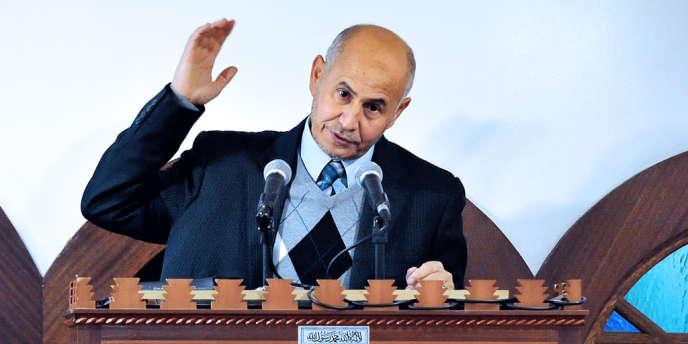 Amar Lasfar, président de l'Union des organisations islamiques de France, à Lille le 13 octobre 2012.