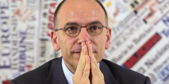 Enrico Letta, le président du conseil italien.