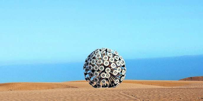 Un designer afghan a mis ses compétences au service de son pays et créé un engin pour désamorcer les mines antipersonnelles.