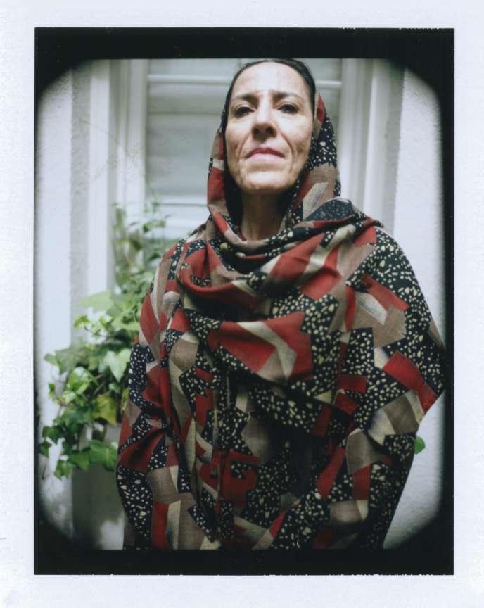 La psychanalyste iranienne Mitra Kadavar, le 12 juin, à Paris.