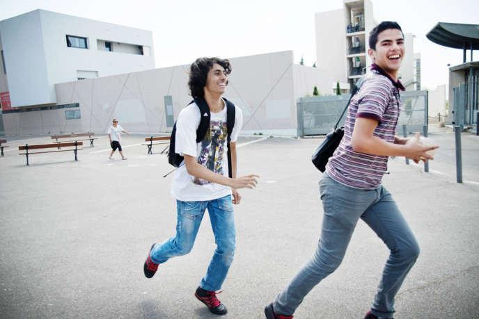 Lycée Saint-Exupéry, Marseille, 6 juin 2013. L'apprentissage représente une dépense totale de quelque 10 milliard d'euros.