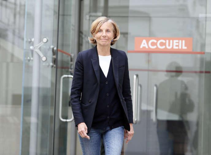 Marielle de Sarnez, candidate du MoDem à la Mairie de Paris.