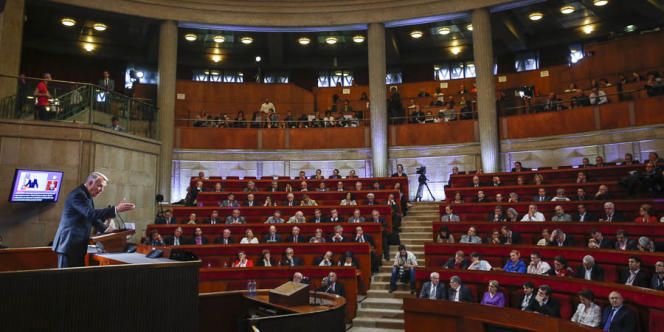 Discours de Jean-Marc Ayrault devant la Grande Conférence Sociale au Palais d'Iéna, à Paris, vendredi 21 juin.