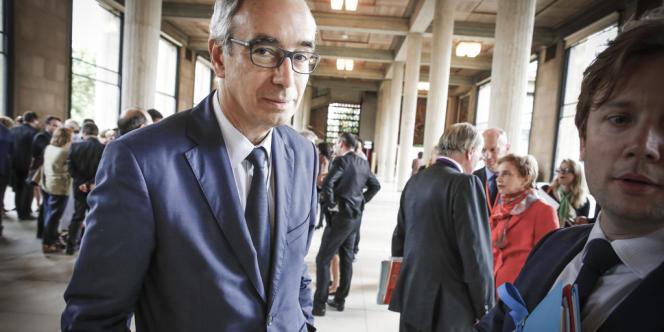 Jean Pisani-Ferry, jeudi 20 juin, au palais d'Iéna à Paris, siège du Conseil économique et social, qui abrite  la Conférence sociale.