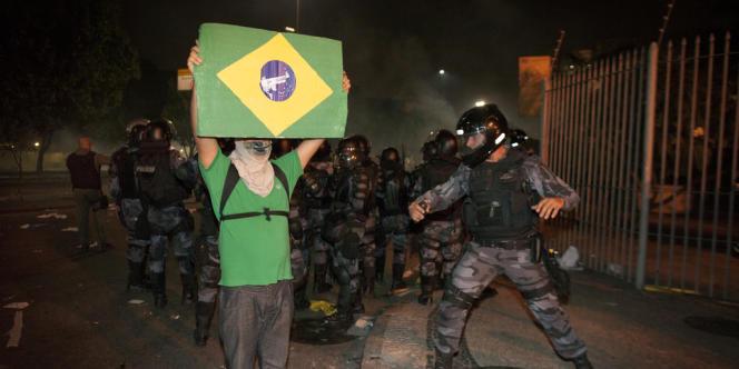 Jeudi 20 juin, à Rio de Janeiro.