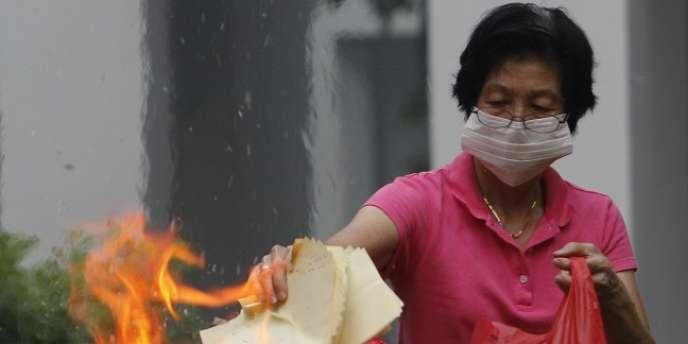 Depuis près d'une semaine, Singapour subit un pic de pollution historique.