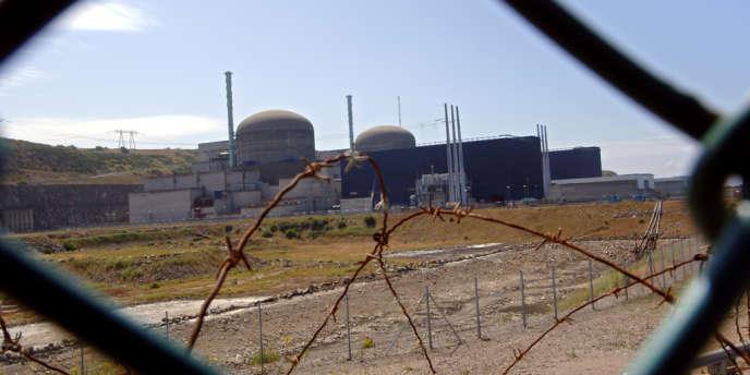 La centrale nucléaire de Flamanville, en 2005.