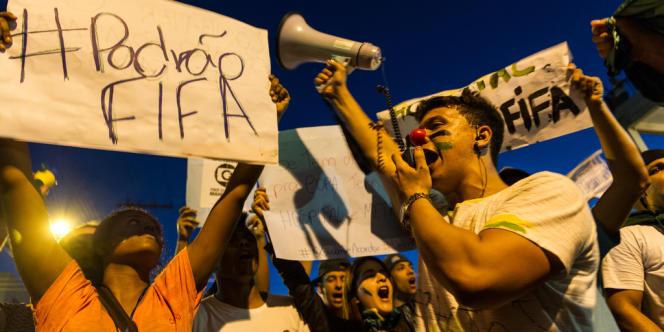 Manifestation à Belo Horizonte, le 21 juin 2013.