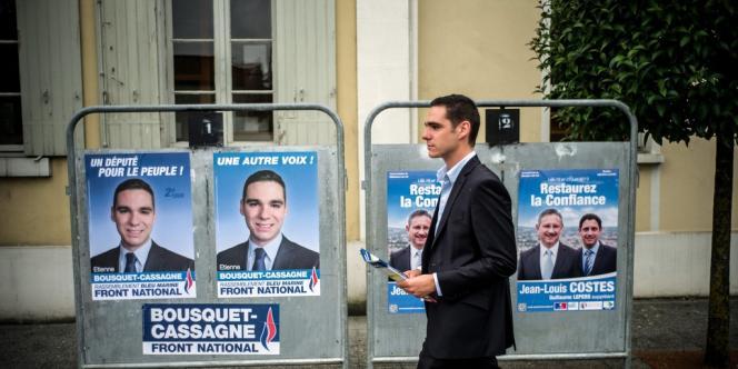 Lors de la législative partielle de Villeneuve-sur-Lot, le Front national a d'abord éliminé le PS, au premier tour, avant de faire vaciller l'UMP au second tour.
