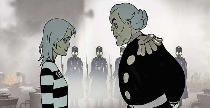 Une image du film d'animation franco-israélien d'Ari Folman,