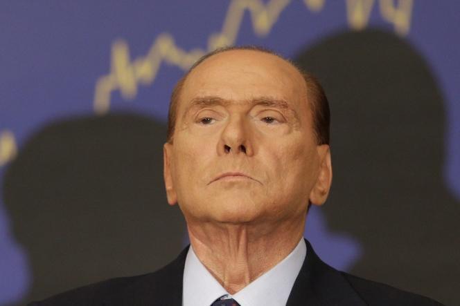 Silvio Berlusconi, en septembre 2012, à Rome.