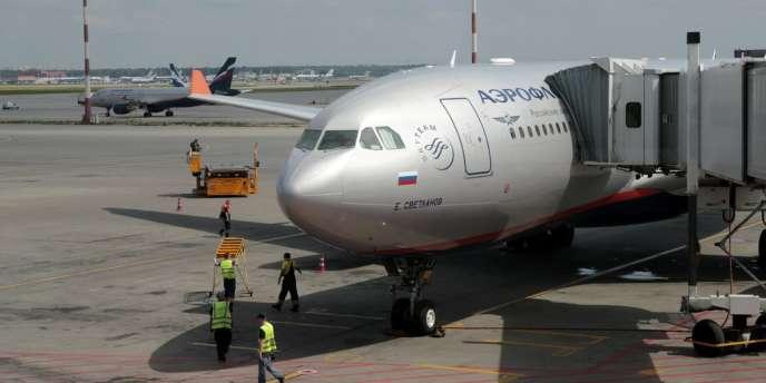 Un avion de la compagnie Aeroflot.